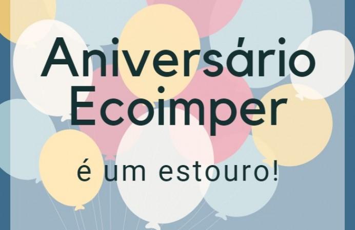 Semana de Aniversário Ecoimper - 3 anos - Comemore Conosco!