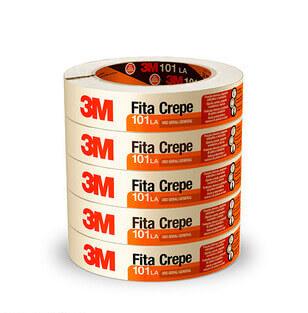 FITA CREPE 3M USO GERAL 101 19x50m