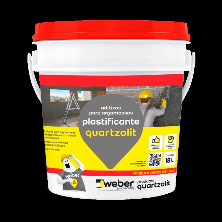 Aditivo Plastificante Quartzolit